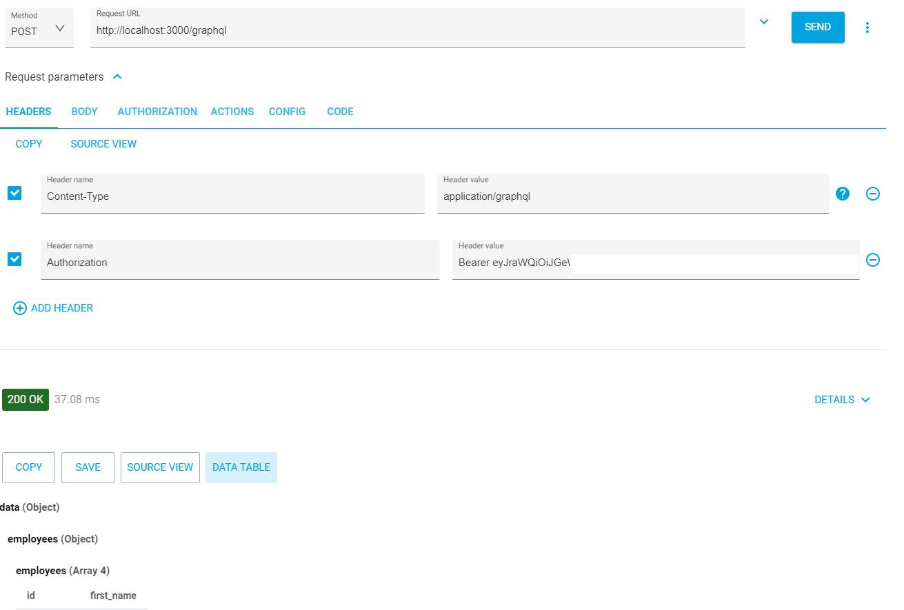API Call Bearer Token