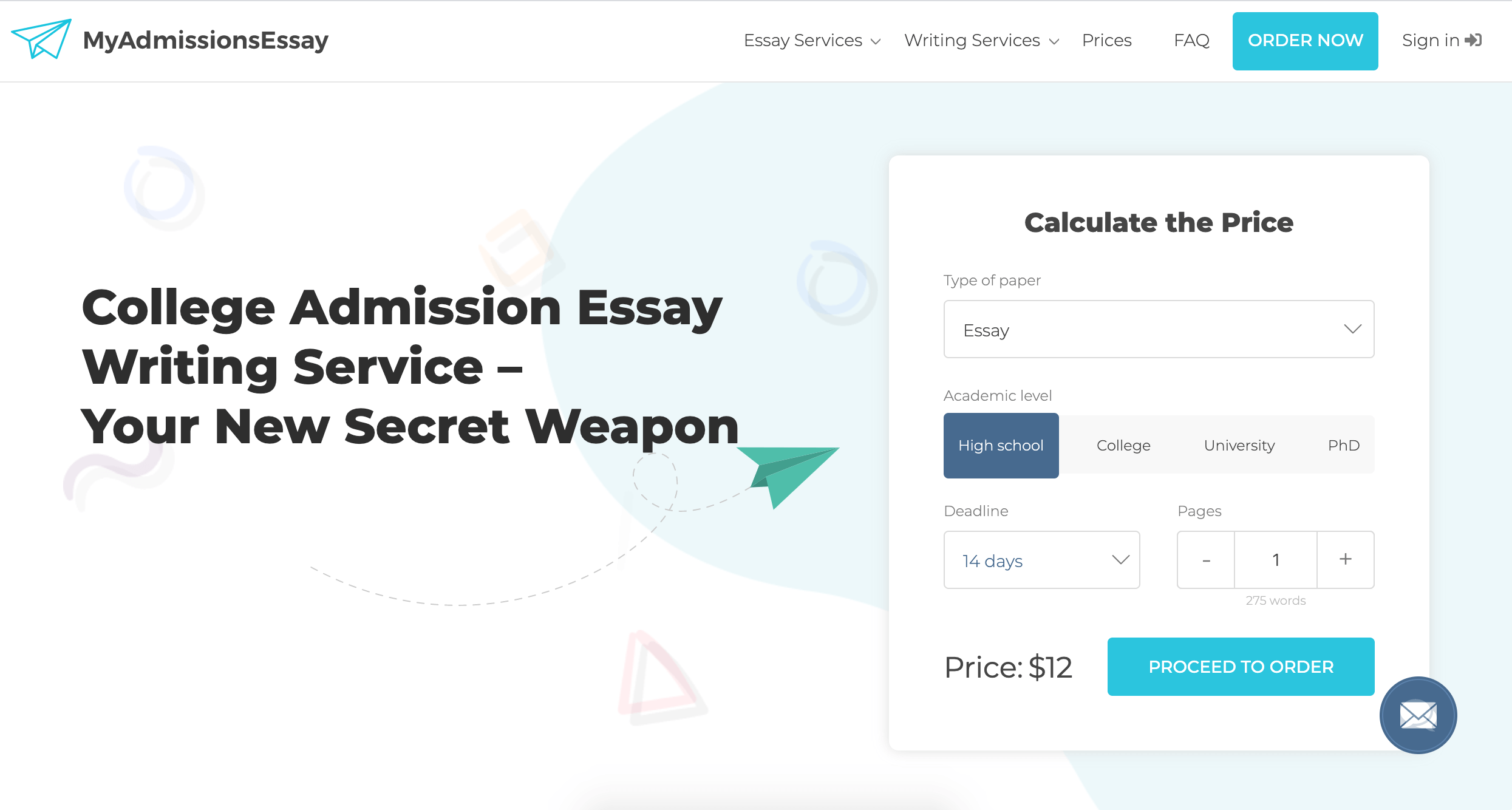 myadmissionsessay.com review