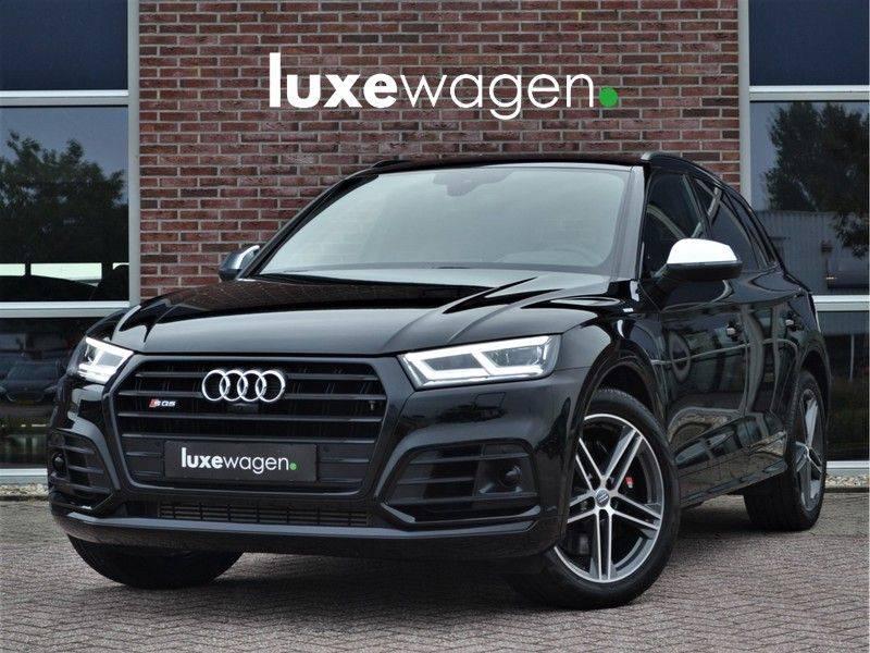 Audi SQ5 3.0 BiTDI 347pk quattro Trekh ACC HUD m-LED Topview Black-Opt afbeelding 1