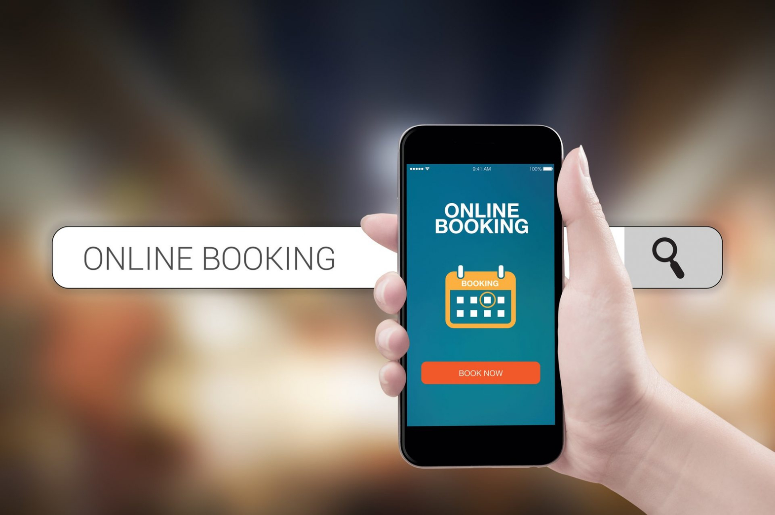 Mobile App Booking