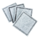 Replacement Carbon Filters, Pack of 4