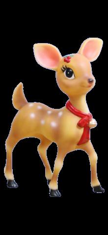 Large Girl Reindeer photo