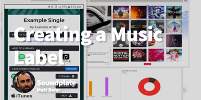 featured image thumbnail for post Creating a Record Label After Running a Successful Blog as a student
