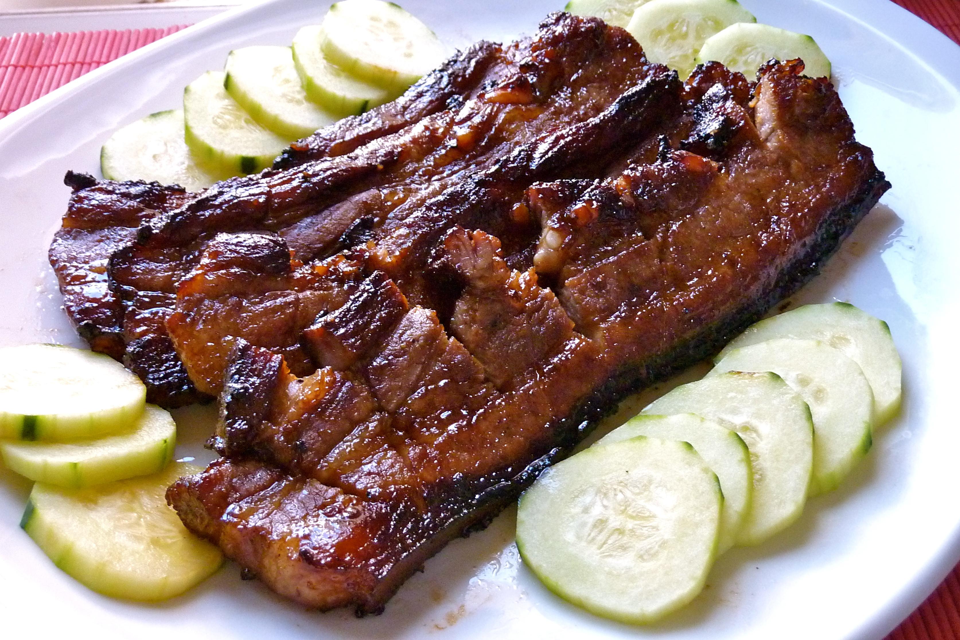 Pork liempo BBQ
