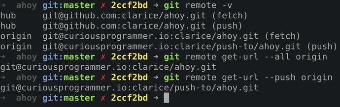 Git get-url