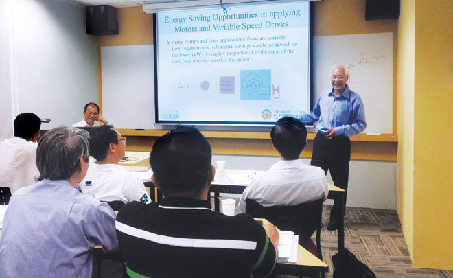 Participants attending a SCEM programme