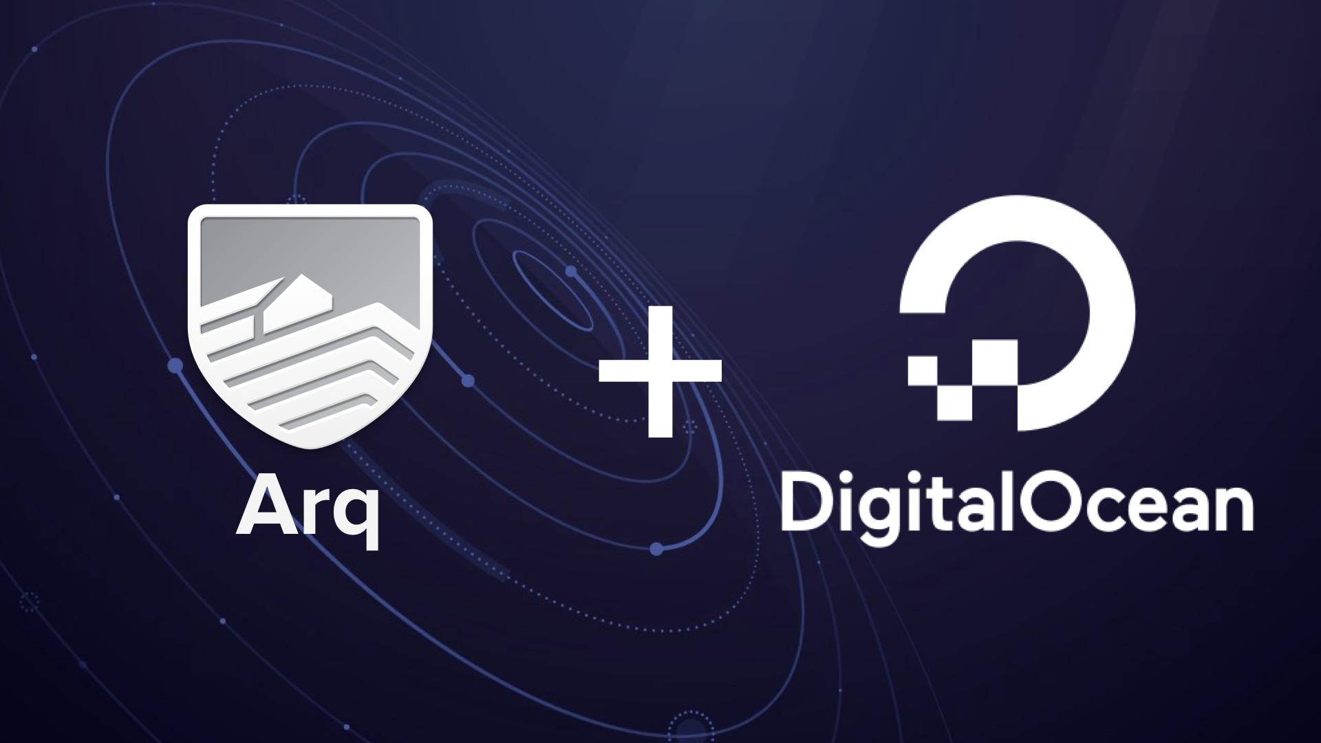 Configure Arq to backup to DigitalOcean Spaces