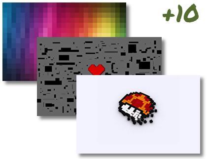Pixel theme pack