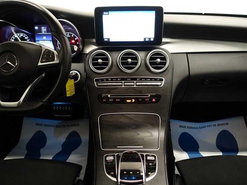 Mercedes-Benz C-Klasse Coupé 300 Prestige 245pk AMG Aut- Panodak, Leer, Camera, Navi, Xenon afbeelding 6