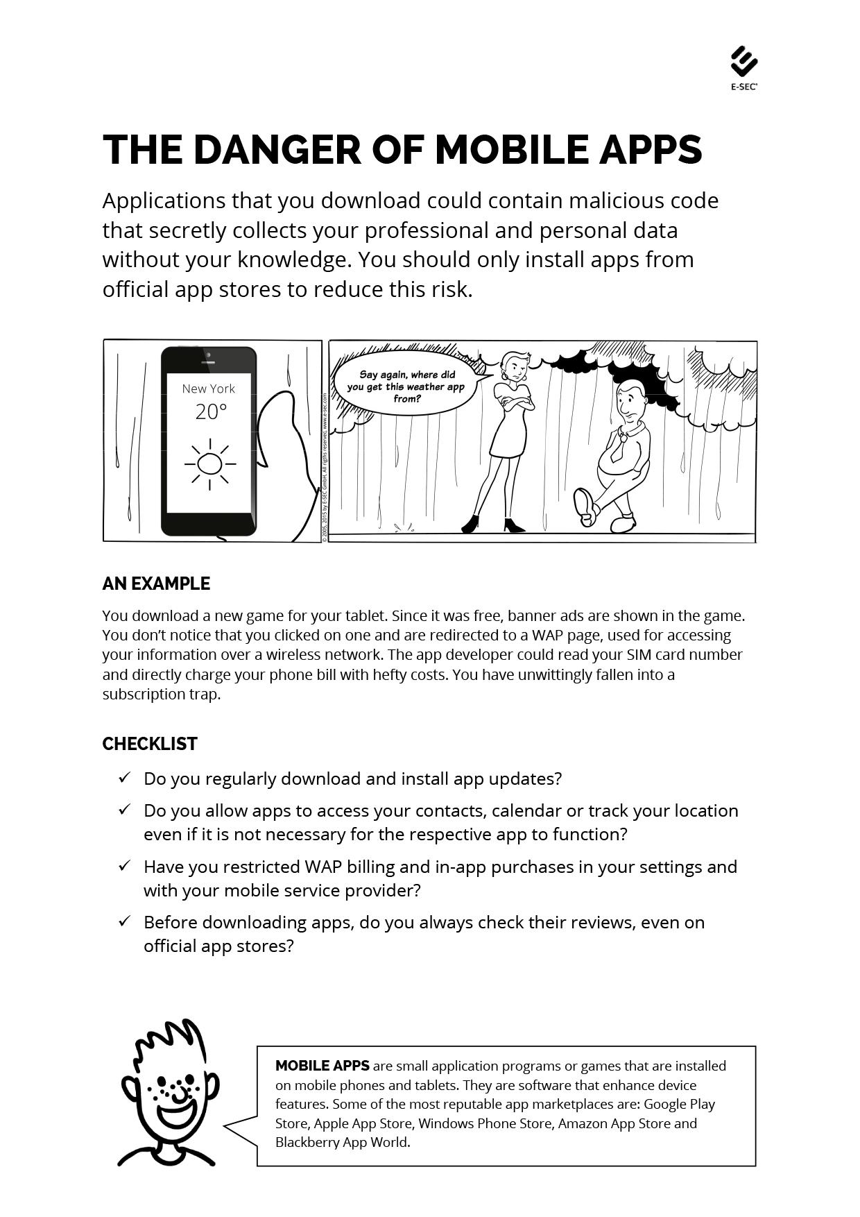 The Danger of Mobile Apps