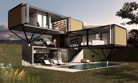 Container Homes and Shipping container houses for sale