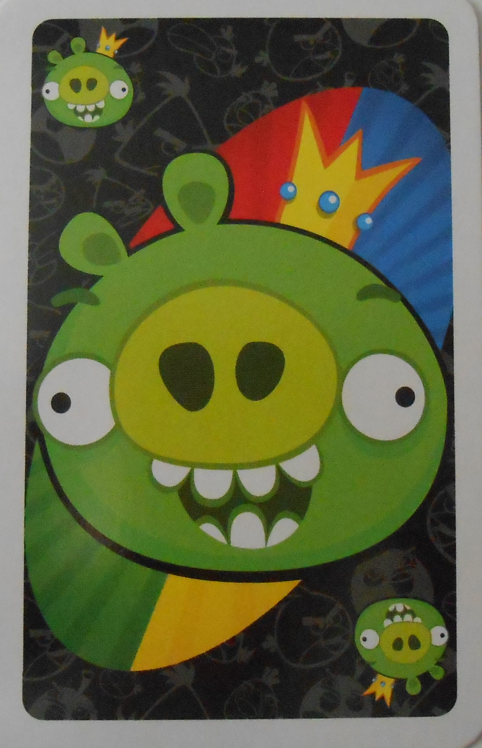 Angry Birds Uno (King Pig Card)