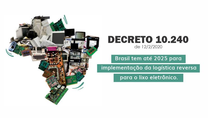 Imagem em destaque para o artigo: Decreto 10.240 estipula logística reversa para eletrônicos