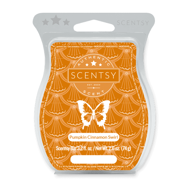 Picture of Pumpkin Cinnamon Swirl Scentsy Bar