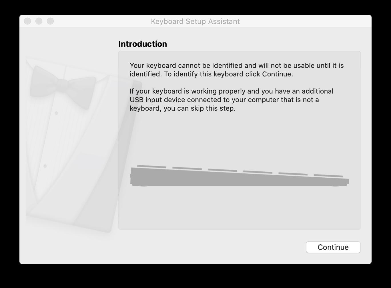 Keyboard Setup Assistant