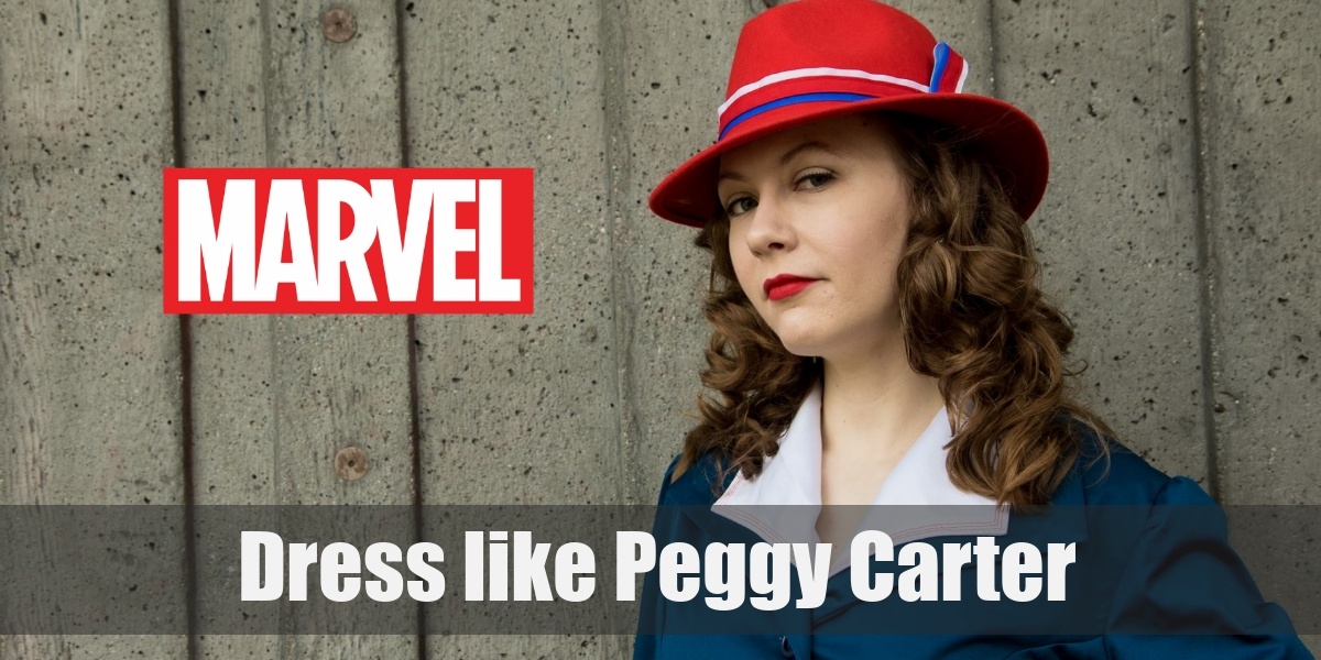 Costume Guide to Agent Peggy Carter's 40s Style from Marvel Comic