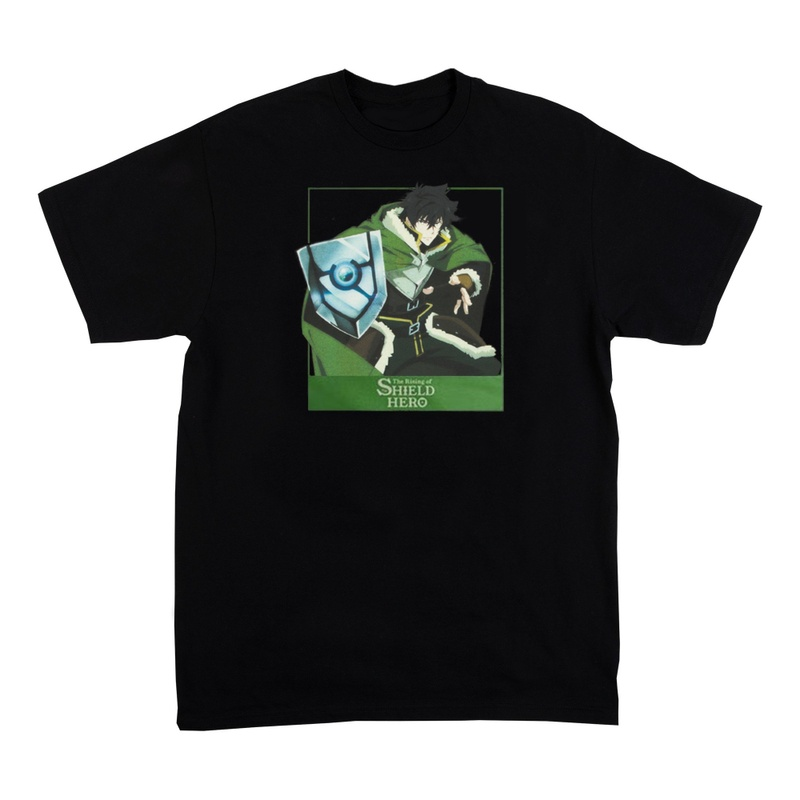 The Rising of the Shield Hero Black T-shirt