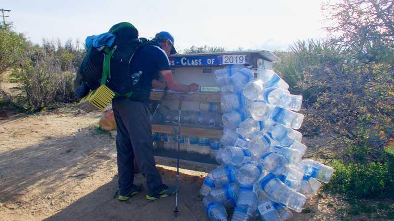 Tengo Hambre at a water cache
