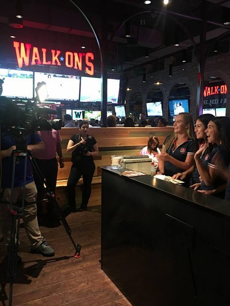 Walk-Ons VIP Grand Opening Event