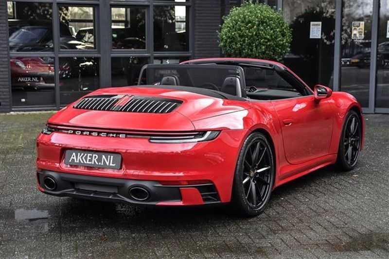 Porsche 911 4S CABRIO SPORTDESIGN+4WSTURING+SPORTCHRONO afbeelding 11
