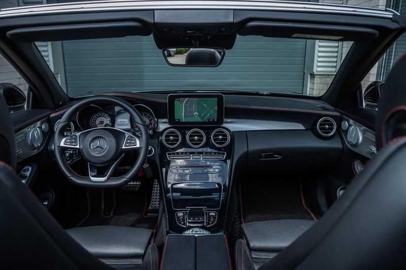 Mercedes-Benz C-Klasse Cabrio 43 AMG 4MATIC, 367 PK, Distronic Plus, Comfort/Pakket, Head/Up, LED, Airscarf, Sport/Uitlaat, 30DKM! afbeelding 4