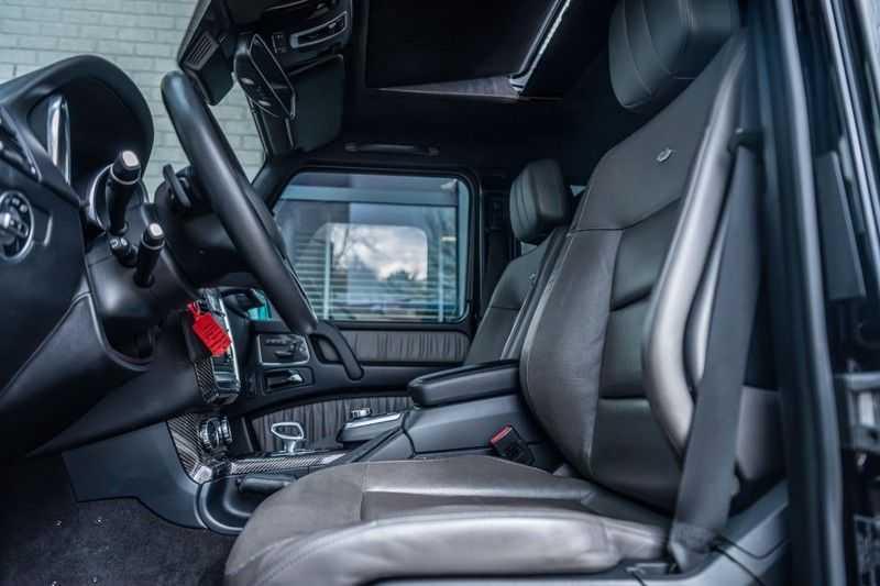 Mercedes-Benz G-Klasse 63 AMG, 571 PK, Full/Black Optiek, Schuif/-Kanteldak, TV, Harman/Kardon, Designo leder, Distronic, 57DKM!!! afbeelding 8