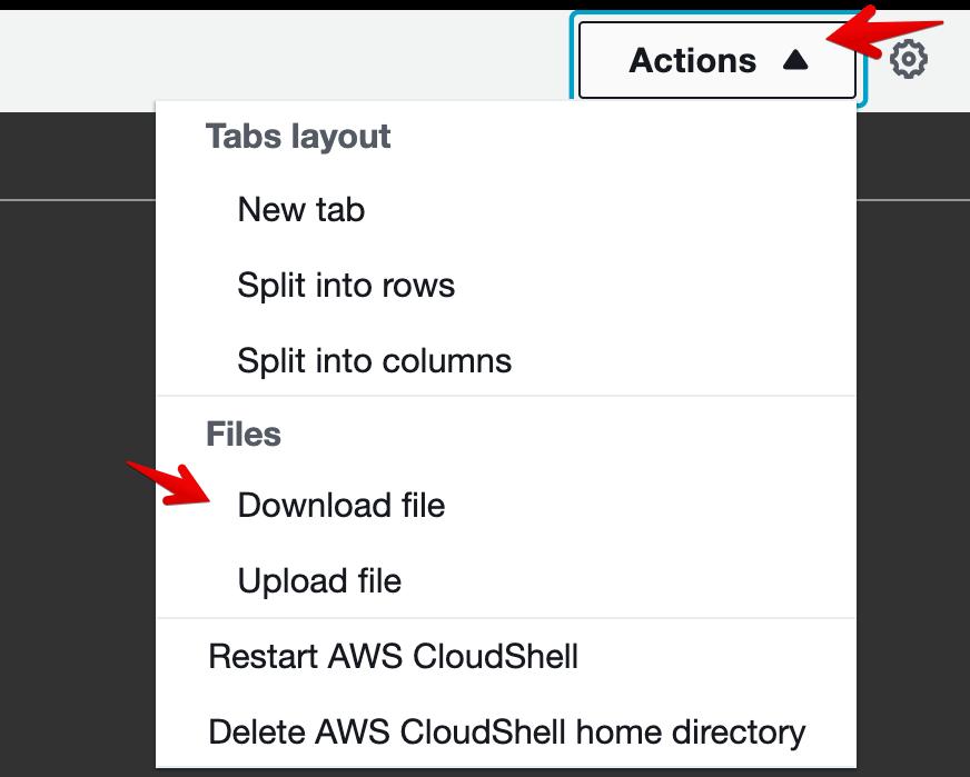 Terminal - Download File
