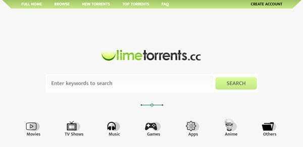 limetorrents torrent search