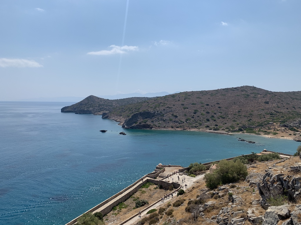 Views from the top of Spinalonga