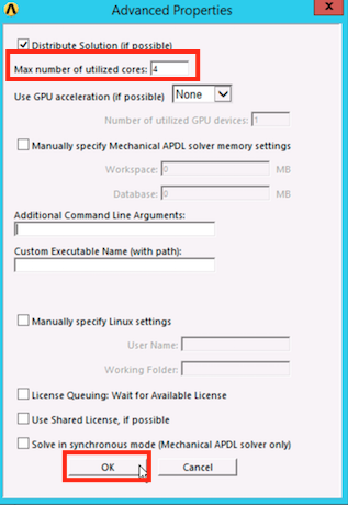 Advanced Queue Settings