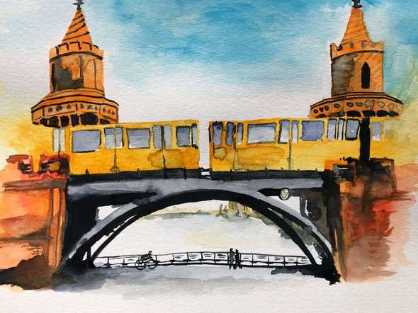 Oberbaumbrücke in Berlin