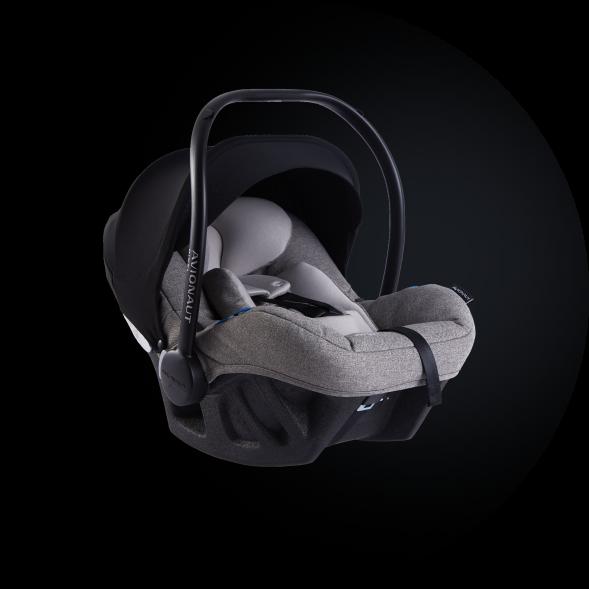 Grau Pixel Pro Autositz