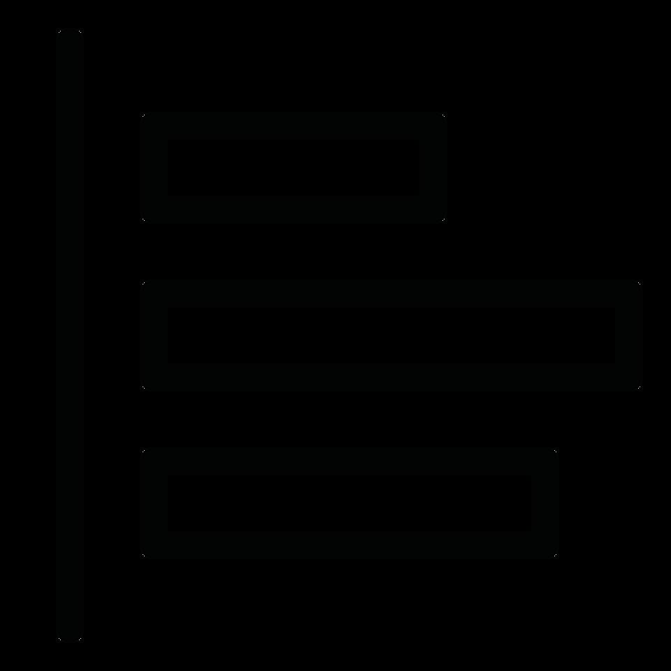 Chart bar horizontal axes one