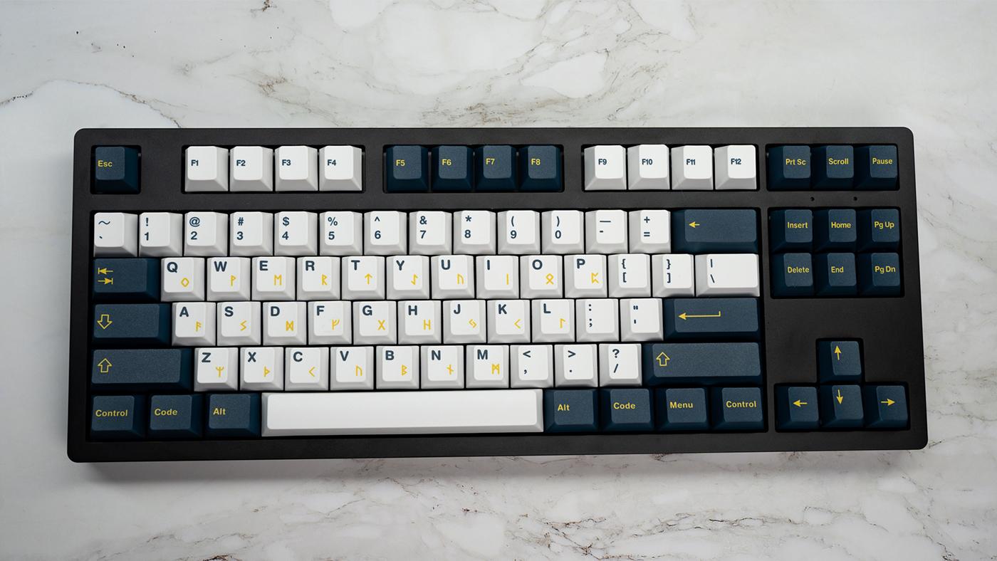 Infinikey Valhalla keycaps.