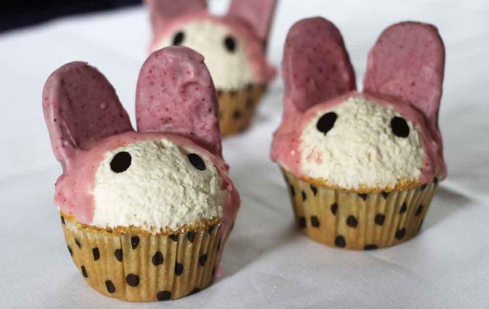 Vegan My Melody Cupcakes