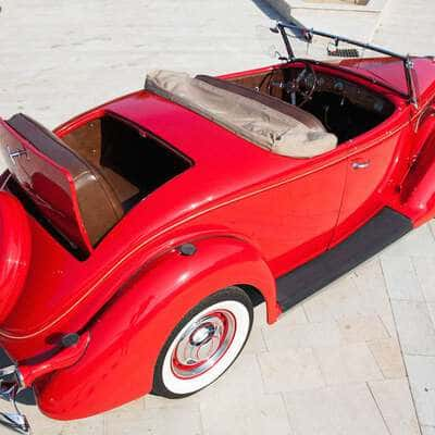 Ford V8 DeLuxe 2 Door Roadster 1936 6