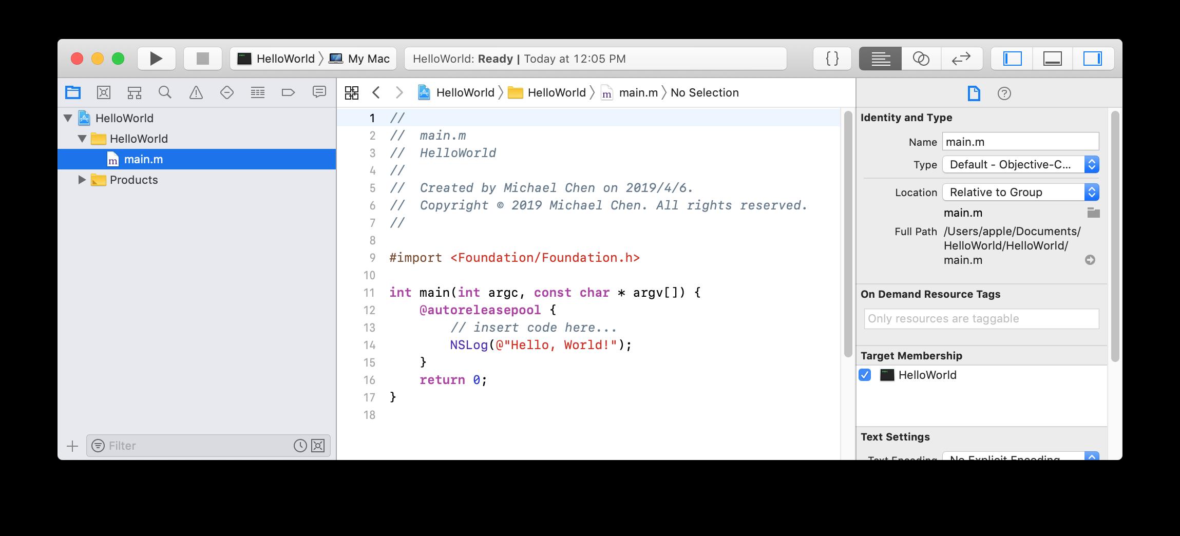 Xcode 的編輯器