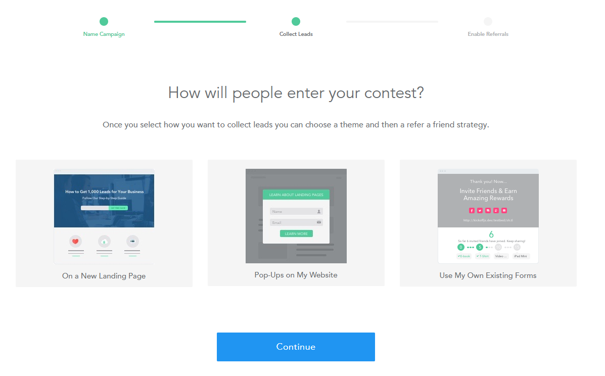How to Setup a Social Referral & Rewards Campaign Like