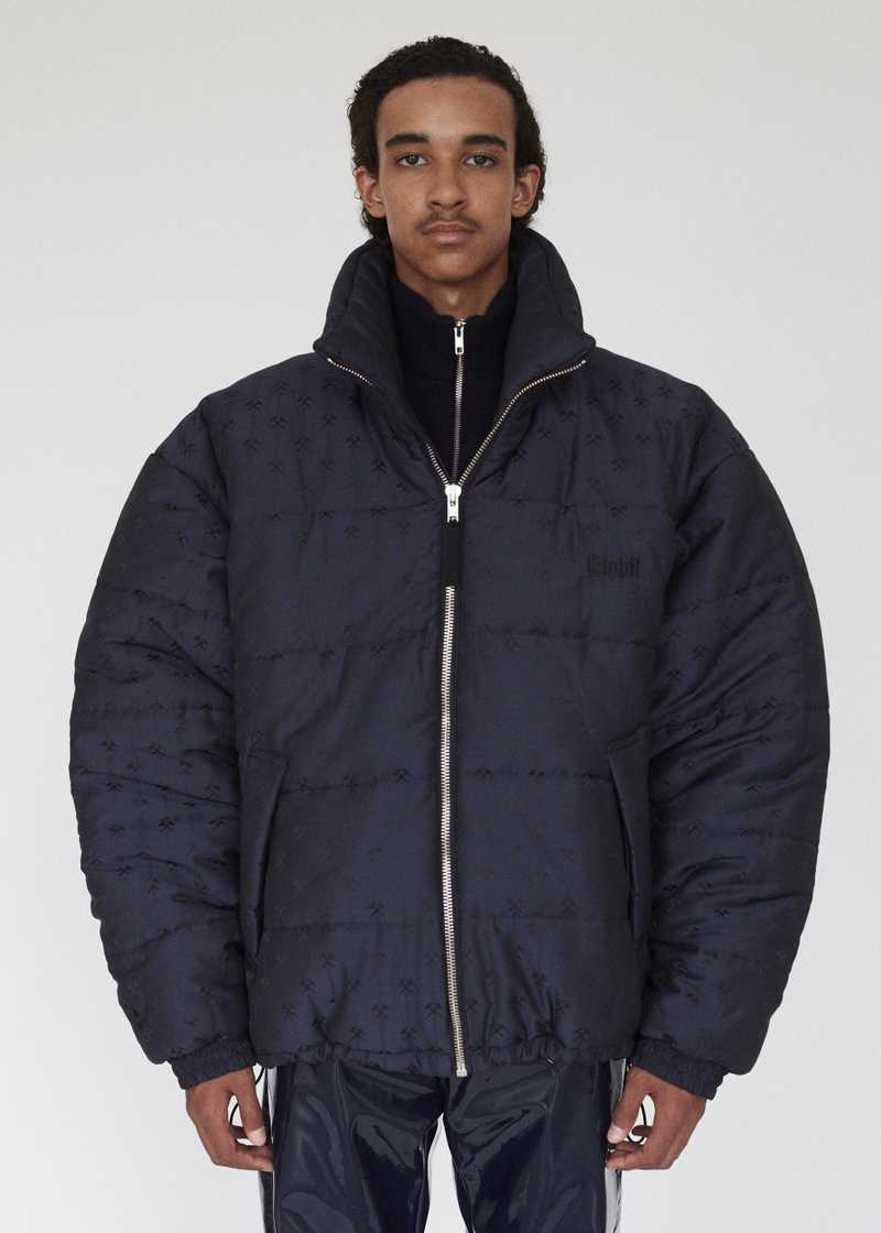 DEBS GMBH AW19 PUFFER JACKET NAVY PREVIEW