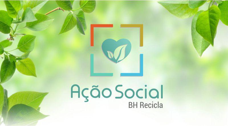 Imagem em destaque para o artigo: Ação Social BH Recicla