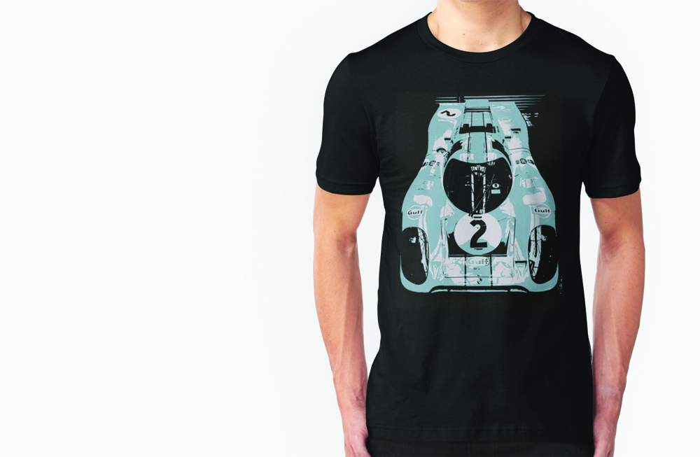 Porsche 917K Slim Fit T-Shirt by thespeedart
