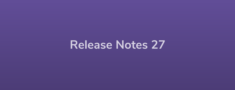 Esper Release Notes — DevRel 27