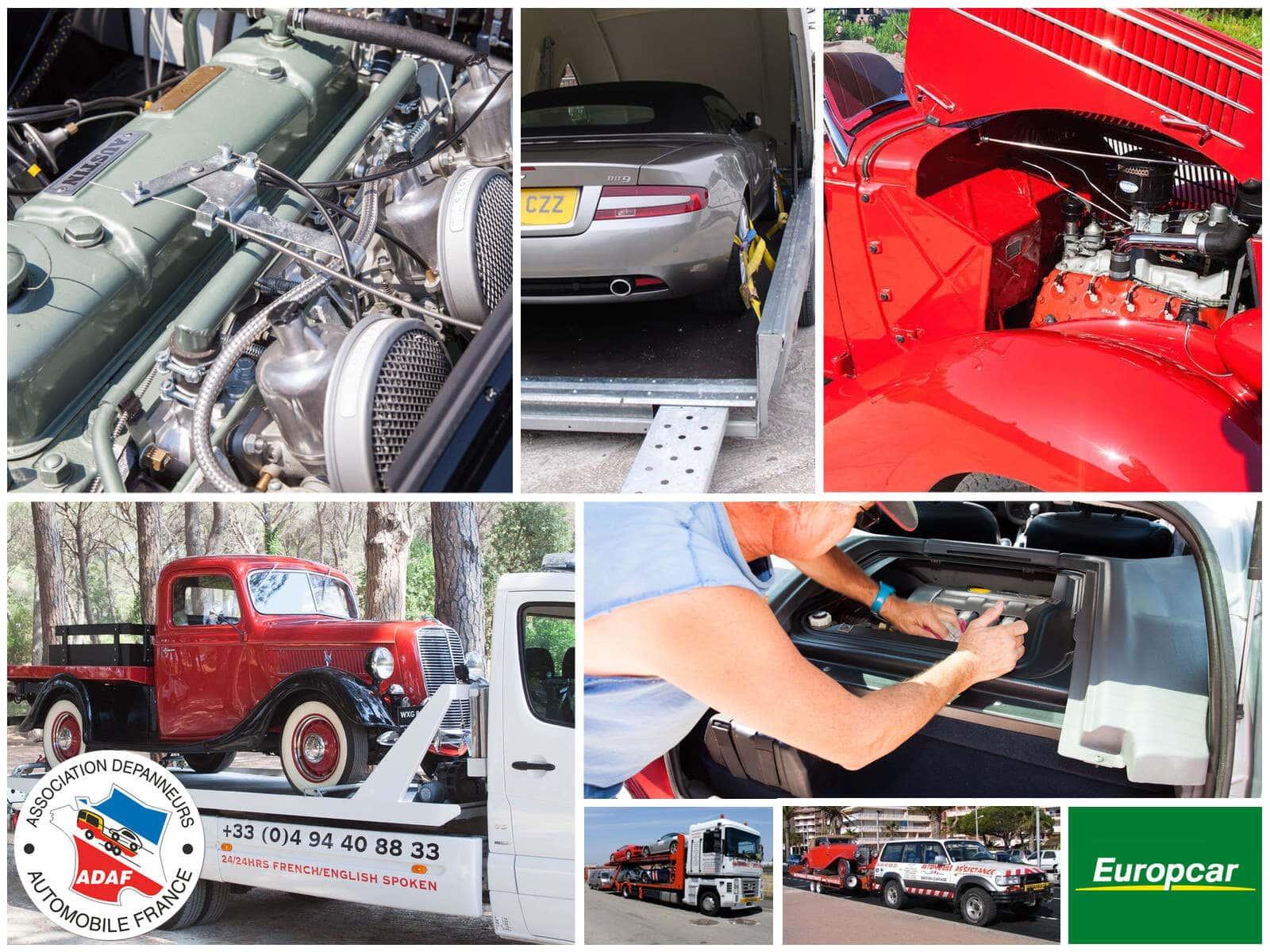 Dépannage, Réparations, Pièces détachées, Maintenance