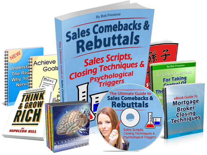The Ultimate Guide to Sales Comebacks and Rebuttals