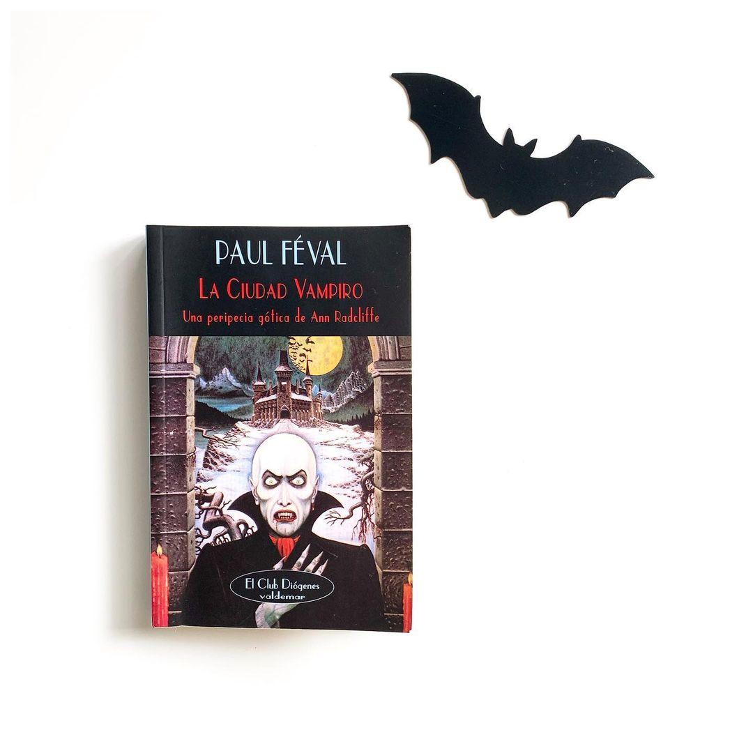 """Imagen de Reseña de """"La ciudad vampiro"""", de Paul Féval"""