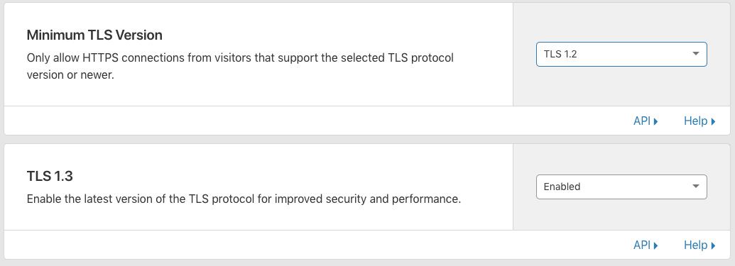 TLS Version