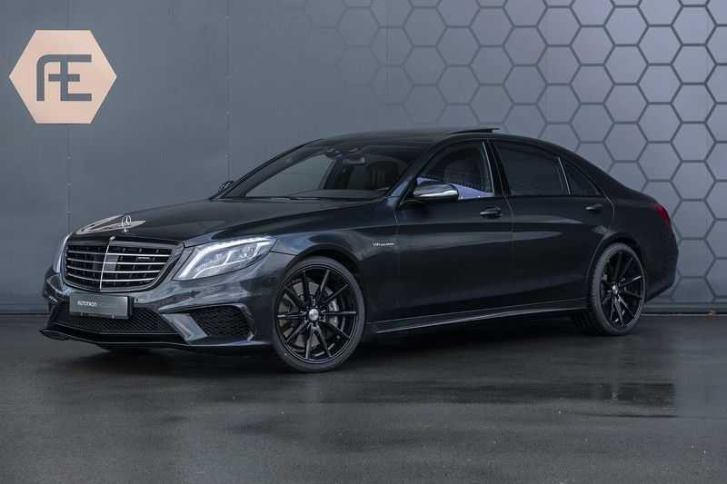 Mercedes-Benz S63 AMG Lang 4-Matic BTW + Magnetite Black + Panoramadak S 63 DISTRONIC Plus + MASSAGE afbeelding 1