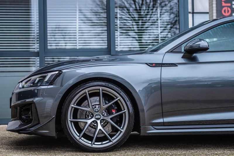 Audi RS5 Coupé 2.9 TFSI Quattro Pro Line Plus, 520 PK/JD, Full Capristo-R, Full Carbon, 20'' BBS Wheels, Pano/Dak, 52DKM!! afbeelding 6