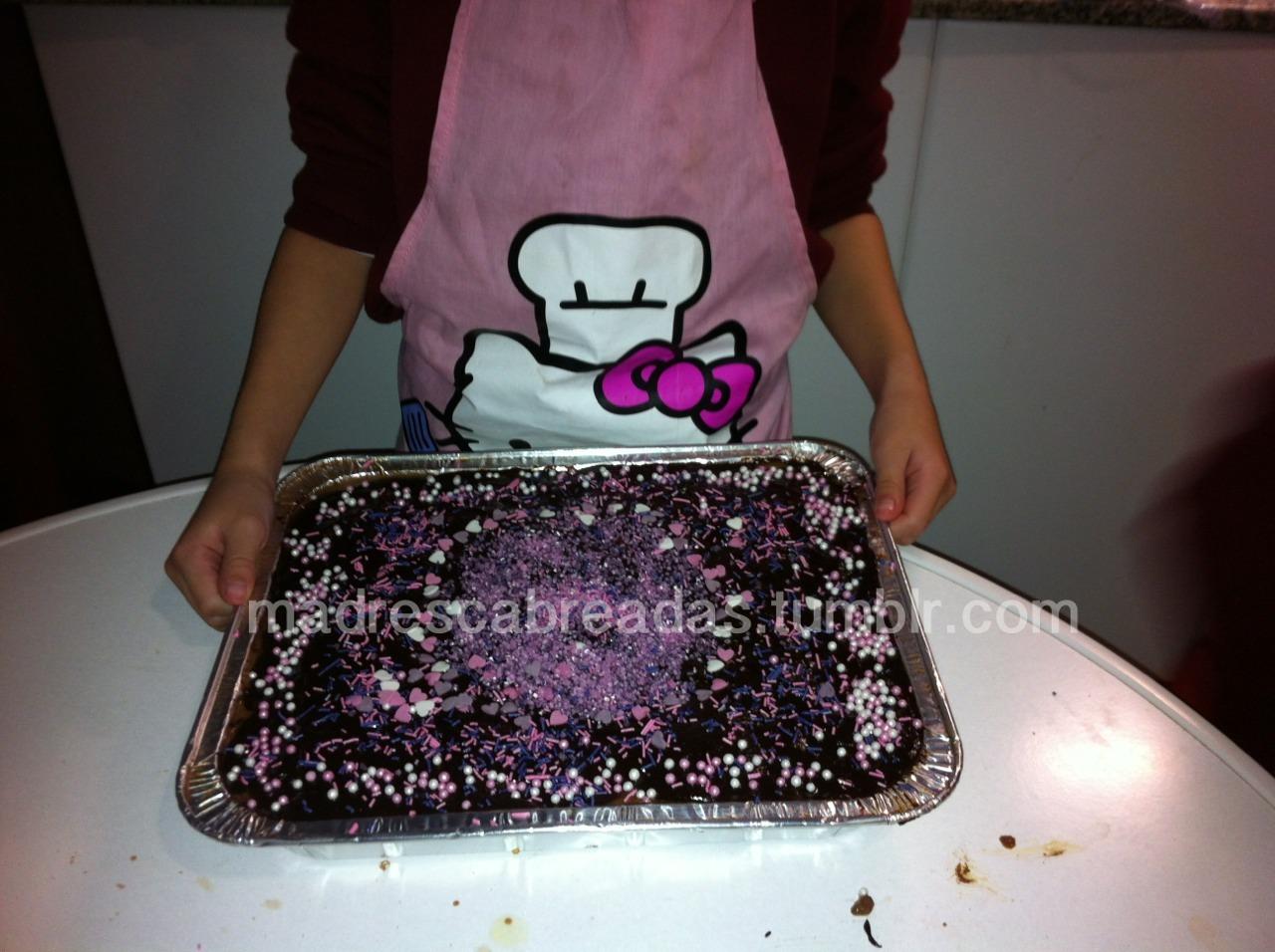 tarta de la abuela decoración