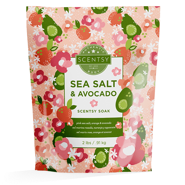 Sea Salt & Avocado Scentsy Soak